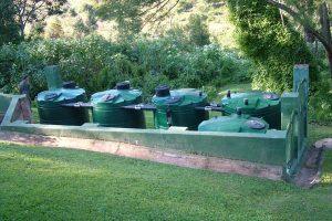 Lilliput septic tank