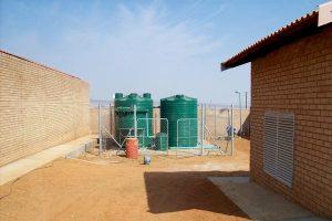 Jane Furase SAP treatment plant