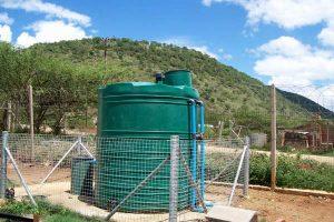 Ngubevo Clinic rural sewage treatment plant