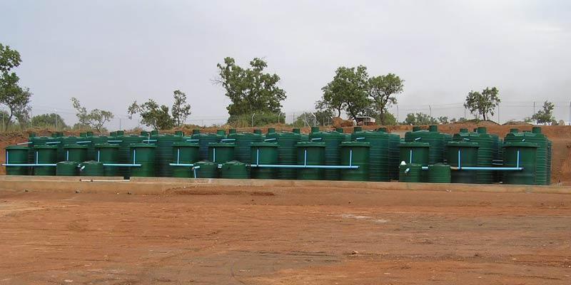 Sadiola large sewage treatment plant