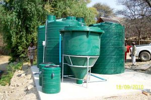 Van Beach Game Reserve Sewage