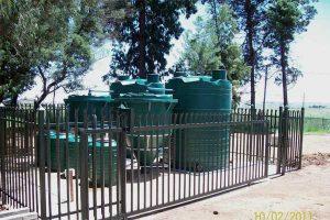 Boselo School sewage system