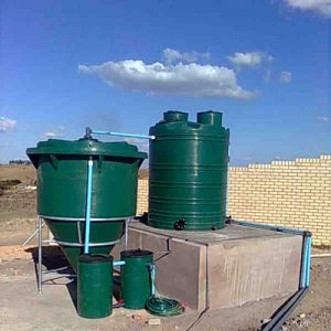 Kwambisa clinic rural wastewater treatment system