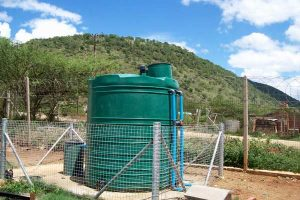 Ngubevo Clinic rural sewage treatment plant