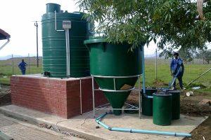 Nkonjeni Clinic Sewage package plant