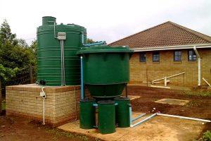 Ntembiswana Clinic Sewage plant