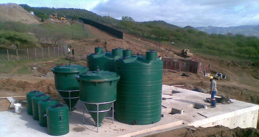 sewage treatment plant installation and management